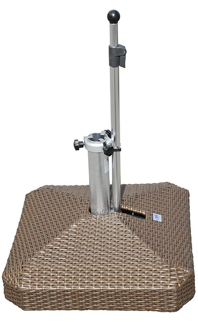100s | clermont rolling umbrella bases, mobile umbrella stands and Rolling Umbrella Stand