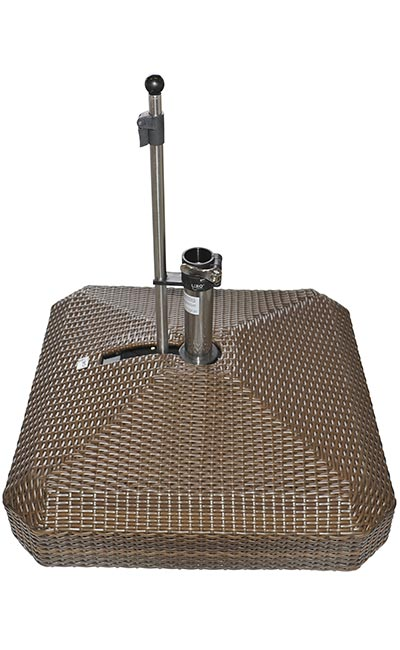 220s Clermont Rolling Umbrella Bases Mobile Umbrella Stands And